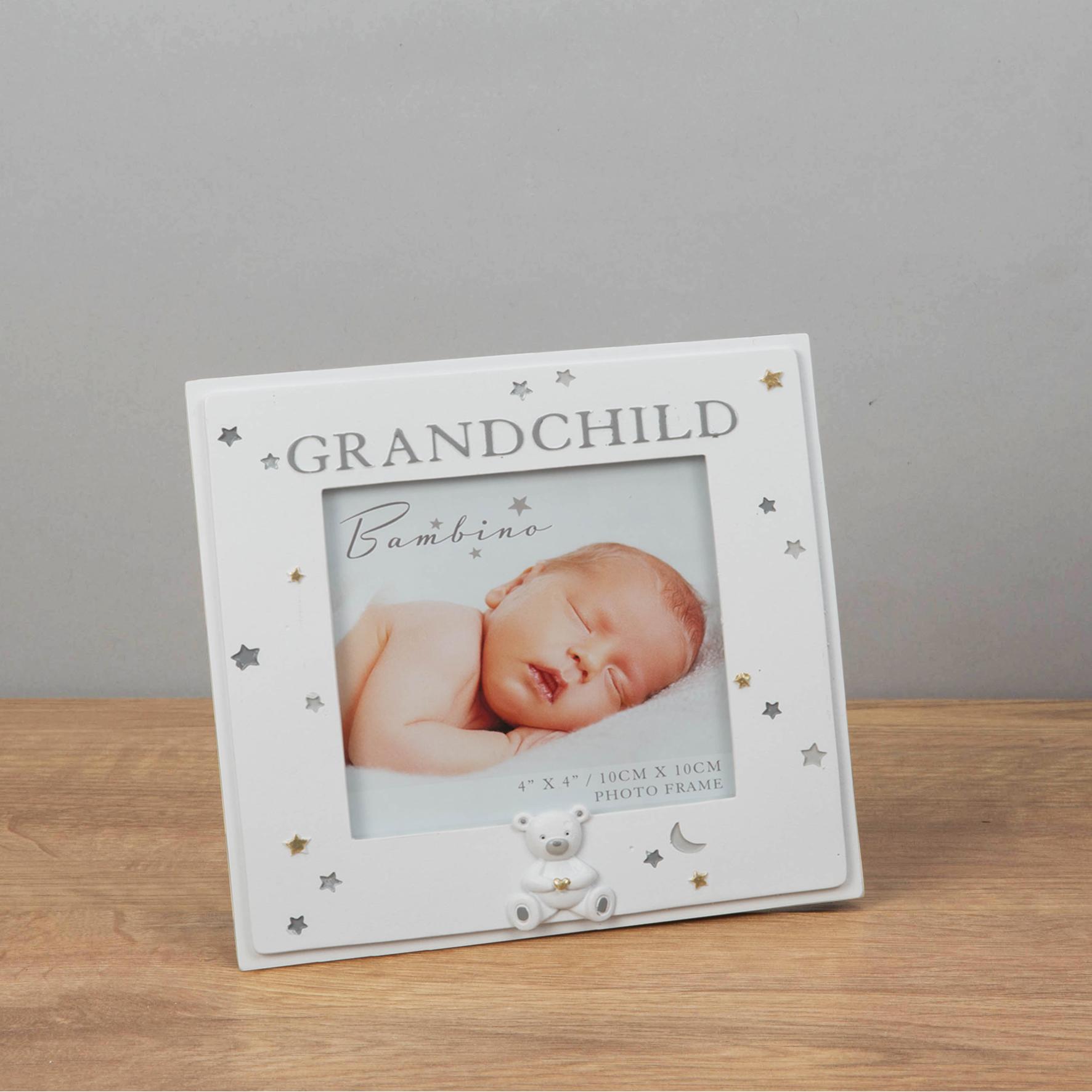 Resin Grandchild Photo Frame
