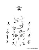 Christmas Tree Dot to dot