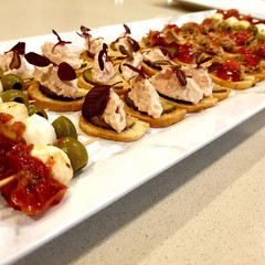 Canapes!....Such a fantastic way to get