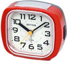 Rhythm Alarm Clock - CRE847WR01