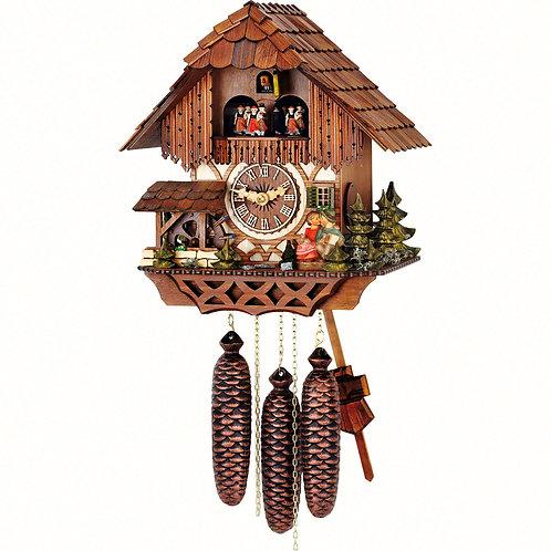 Hubert Herr Cuckoo Clock - HH65/36/8-V-Ku-RM