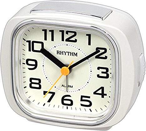 Rhythm Alarm Clock - CRE847WR03