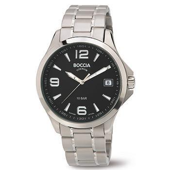 3591-02 Mens Boccia Titanium Watch