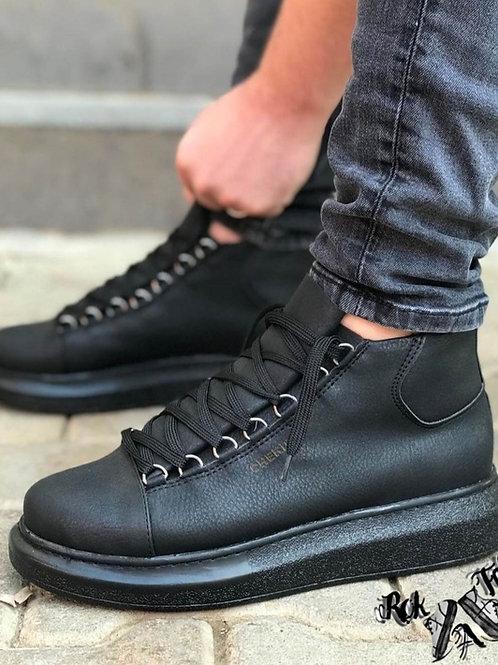 Chekich All-Black Half Boot