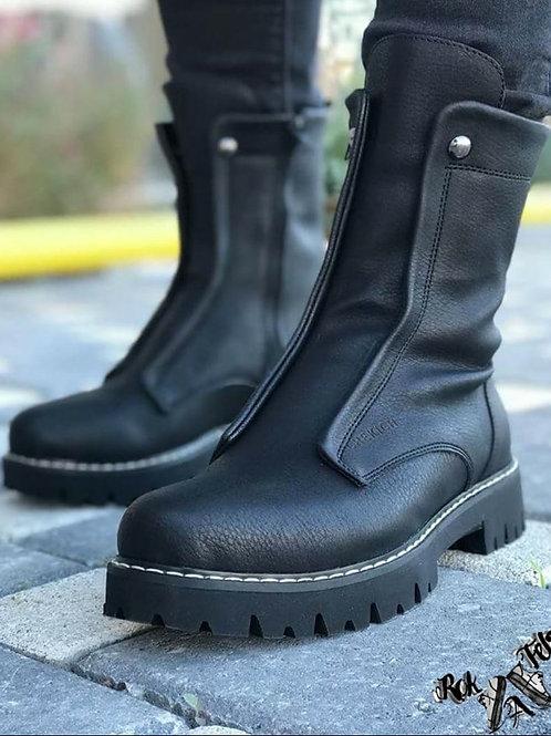 Chekich Black Boot