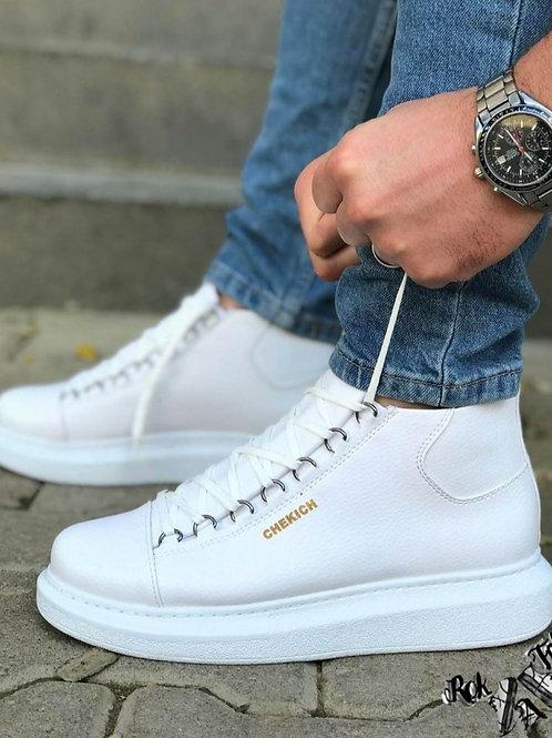 Chekich All White Half Boot