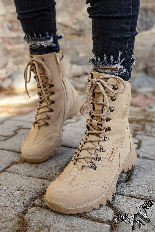 Chekich Army Brown Boot