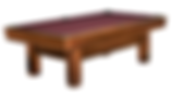 Bridgeport Billiards Table Chestnut.png