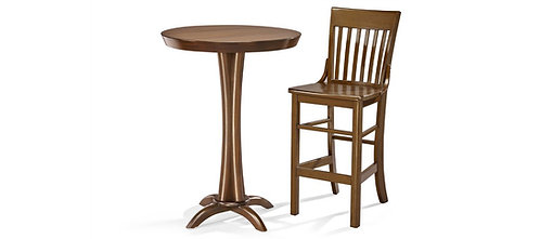 Brunswick Pub Table and (2) Stools