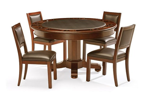Heritage Game Table with four Chairs