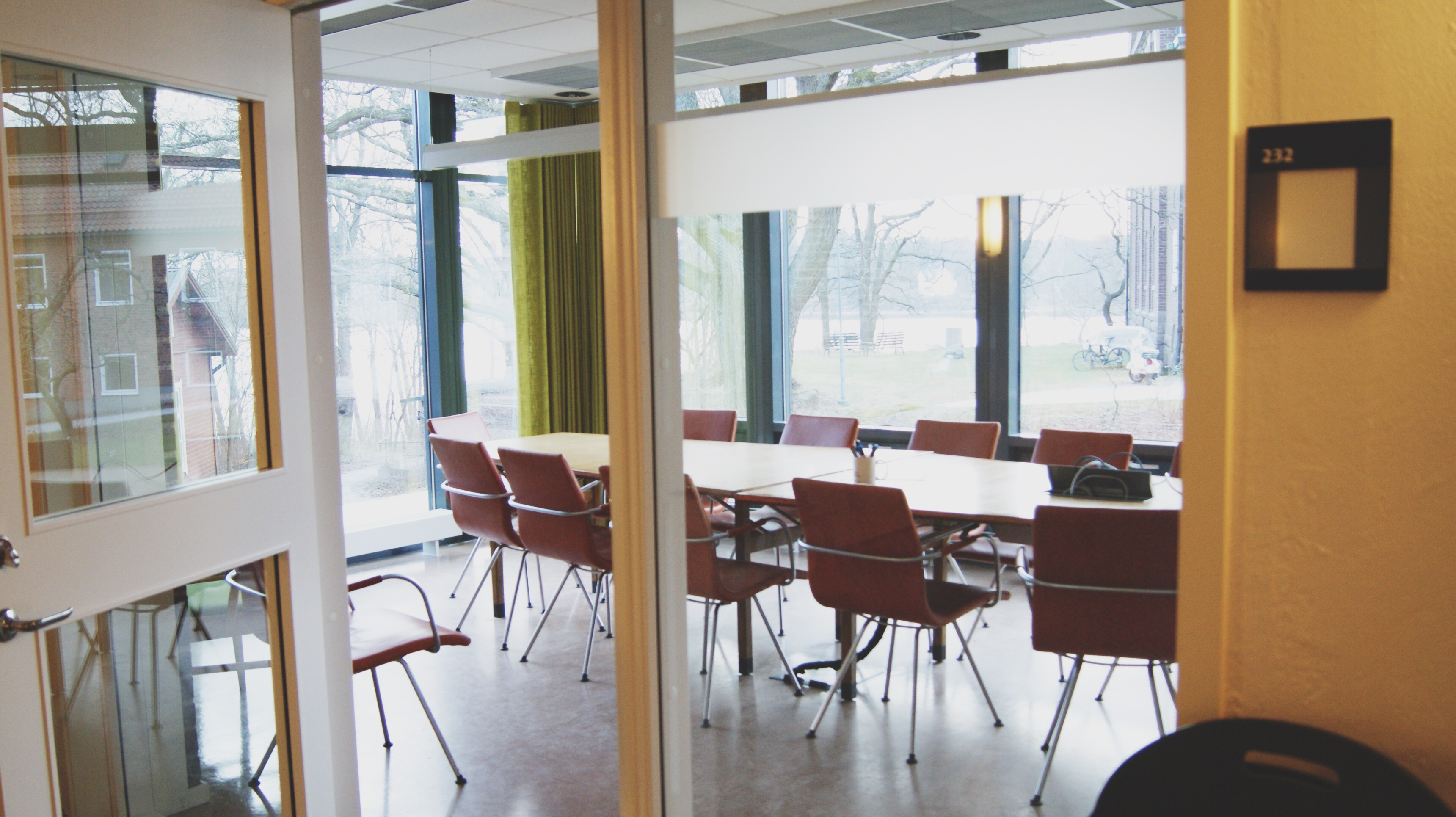 The GEL conference room