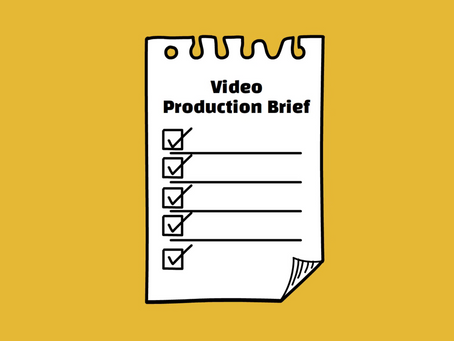 How to Write a Video Brief that Gets What You Want