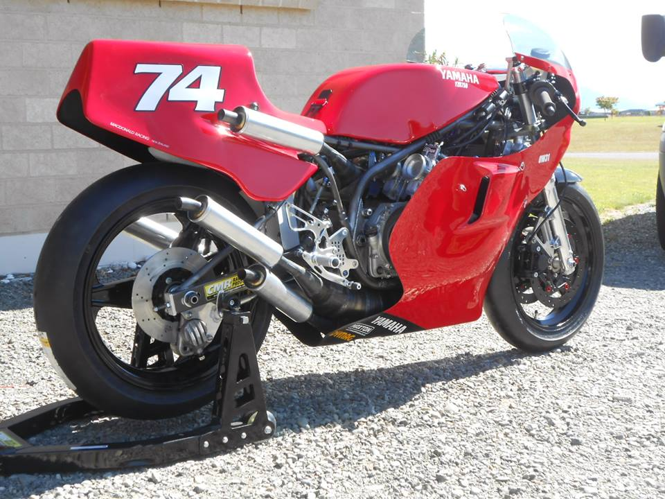 Norm Macdonald's Yamaha TZ750