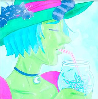 Méridie (la green witch)