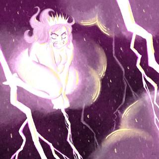 Princesse Nuage - la tempête