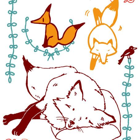 janvier, mois du renard