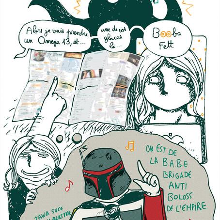 Star Wars x Booba, only @DernierBar :D