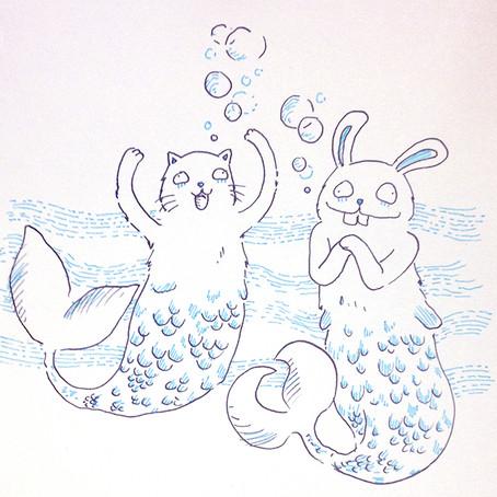 les petits amis hystériques de la mer