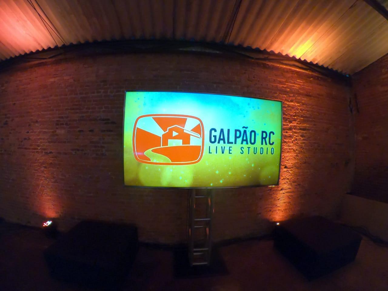 Galpão RC - Espaço para lives