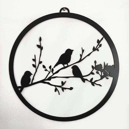 Bird Wreath