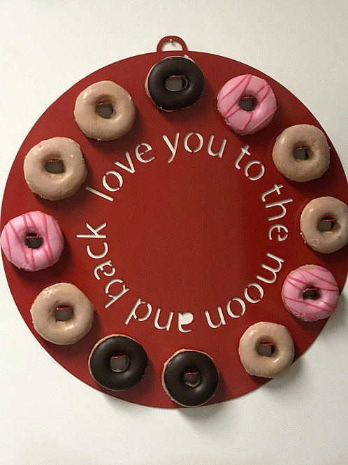 Donut Board - Love You To The Moon & Back
