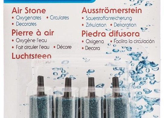 """Marina Aqua Fizzz Aquarium 1"""" Cylinder Air Stone- 4 pack"""