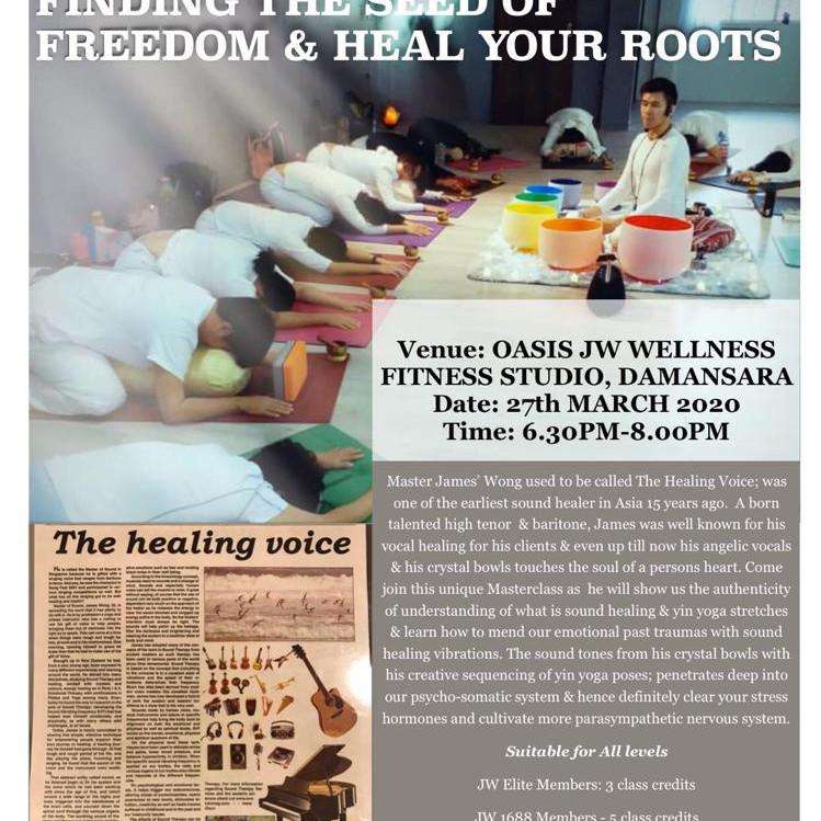 SOUND HEALING & YIN YOGA