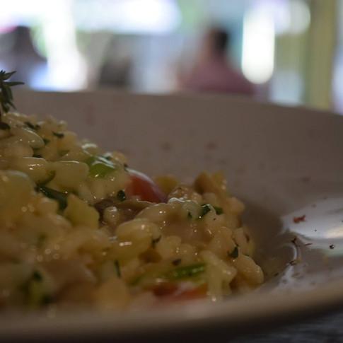 Ριζότο λαχανικών με μανιτάρια