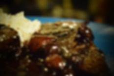 Συκώτι Μόσχου με καραμελωμένα κοκκάρια κ - ελληνικό φαγητό