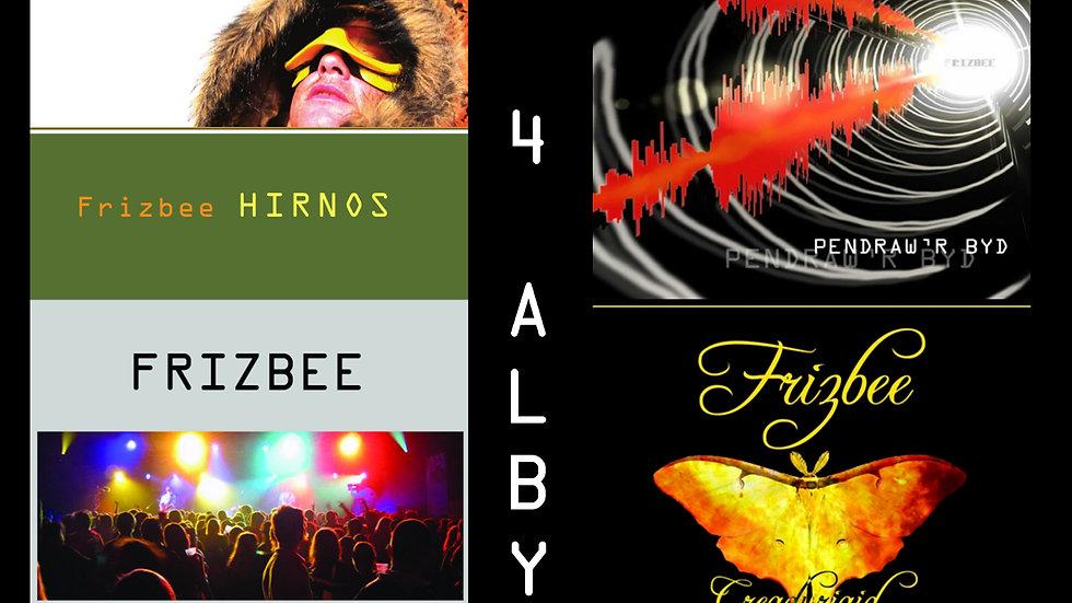 Frizbee - Casgliad 4 Albym