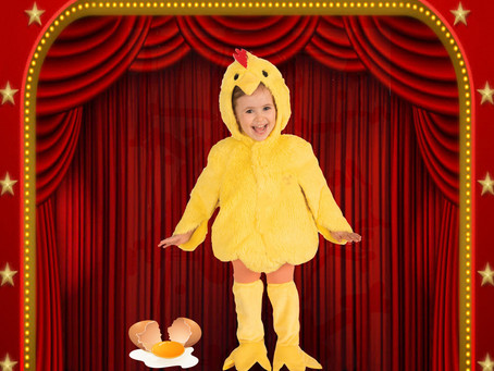 Eggs are for Breakfast - Don't Lay one        On Stage  Theater Audition Success