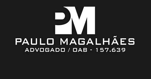 Logotipo do escritório de advogados Paulo Magalhães