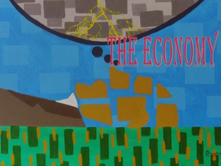 A economia. The economy.