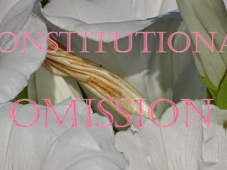Omissão constitucional.
