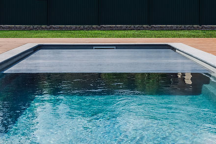 Span for pool. Rolling coating. Pool pro