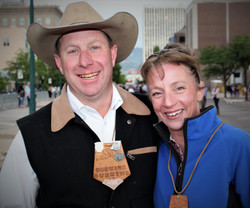 Greg & Patty Budwine at the Western Stre