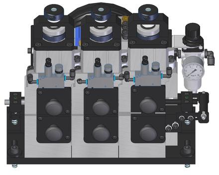 Elektronischer Drahtvorschub BMD 020 Tmit 300N Zugkraft