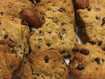 Biscotti alle fave di cacao