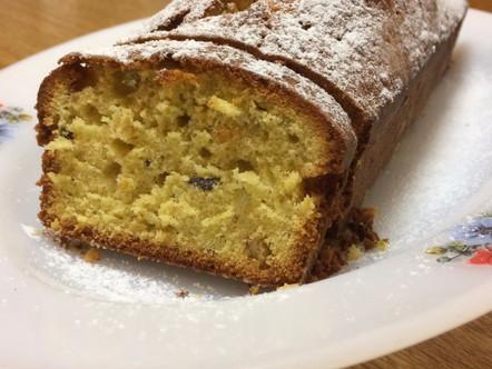 Plum cake pistacchio e arancia