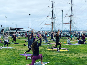 Yoga and Pouring it Forward