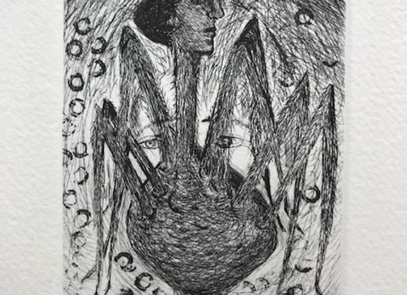 Pilar Bordes - Mujer araña