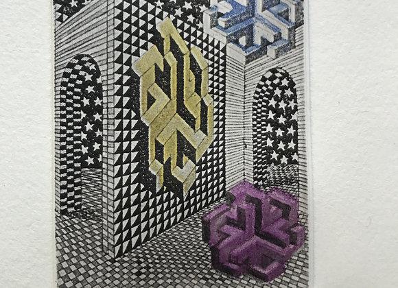 Pedro Friedeberg - Sin título - De la colección Artistas en México