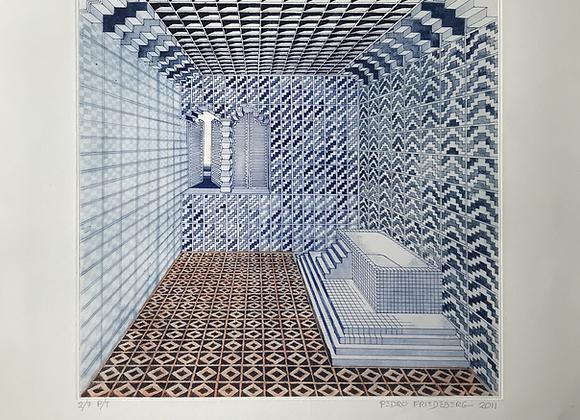 Pedro Friedeberg - El baño del Rey