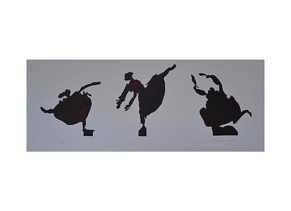 Gilberto Aceves Navarro - Tres bailarinas