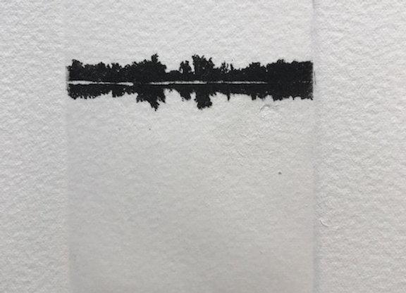 Jan Hendrix -  Serie Paisaje en negro III