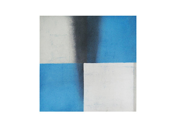 Francisco Castro Leñero - Blanco sobre blanco y azul