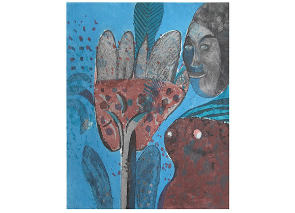 Roger Von Gunten - Mujer mano negra