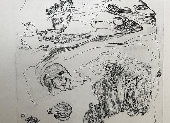 Alan Glass - Gauguin, La Muerte y Marte