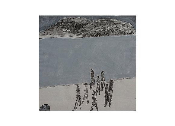Joy Laville - Ocho mujeres en la playa