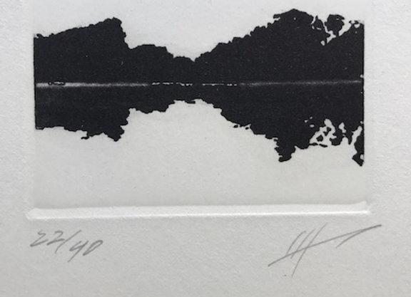 Jan Hendrix -  Serie Paisaje en negro IV